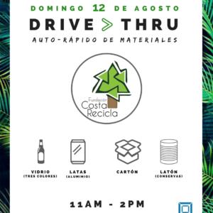 Drive Thru de Materiales (Auto- Rápido de materiales)